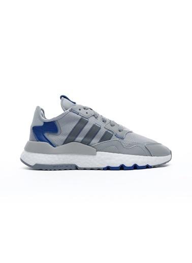 adidas Erkek Nite Jogger Sneakers FW2056.Gri Gri